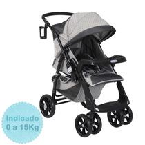 Carrinho De Bebê Classe 1 - Parma Preto Burigotto