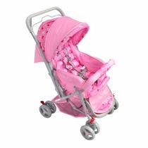 Carrinho De Bebê Tipo Berço 03posições Reversível Babystyles