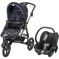 Travel System High Trek Black Raven Bébé Confort