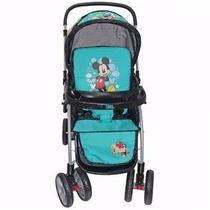 Carrinho Bebê Minnie/mickey Berço / Passeio Alça Reversivel