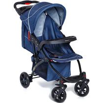 Carrinho De Bebê Athena Azul Galzerano