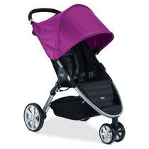Carrinho De Bebe Britax B-agile 3 Rodas Stroller - Roxo