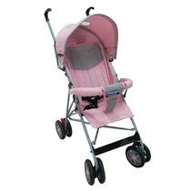Carro Passeio Umbrella Stillo Rosa - Prime Baby