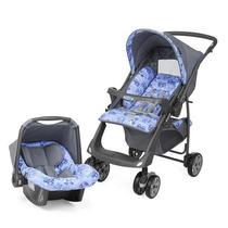 Carrinho Travel System Reversível + Bebê Conforto F/grátis