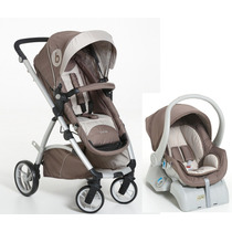 Carrinho Bebe Aluminio Moisés Bebê Conforto Dzieco Inmetro