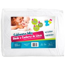 Colchonete Baby Conforto Latex Branco (un) Fibrasca