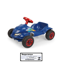 Carro A Pedal Speedplay Azul Homeplay