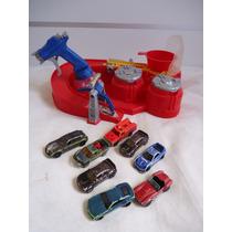 Pista Hot Wheels Color Shifters + 8 Carrinhos Que Mudam De C