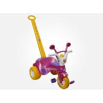 Triciclo Infantil Menina Fofy Cotiplás Promoção Frete Grátis