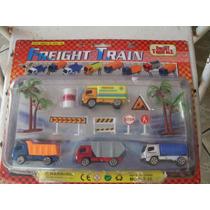 Carros De Cargas - Freight Train - Brinque E Colecione