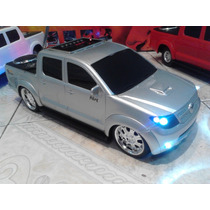 Mini Carro Com Som Hilux Executive