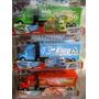 Disney Pixar Cars 3 Caminhões Mack King E Chick Hicks
