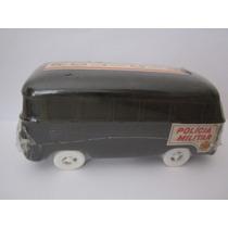 Carro Kombi Miniatura Polícia Déc. 70 Brinquedo Ifa