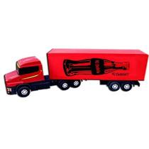 Caminhão Carreta Baú Plástico Madeira Brinquedo Premium
