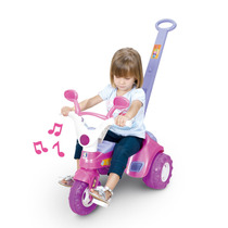 Triciclo Velotrol Baby Music - Cotiplás Frete Grátis