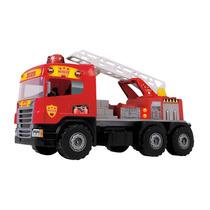 Caminhão Super Bombeiro Resgate - Magic Toys
