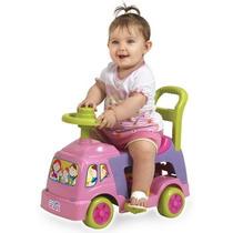 Carrinho Andador 4x1 Rosa Menina Magic Toys