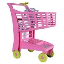 Carrinho Market Supermercado C/ Assento P/ Boneca Magic Toys