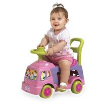 Andador 4 Em 1 Rosa - Magic Toys - 12x S/ Juros