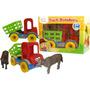 Caminhão Truck Boiadeiro Nina Brinquedos Educativos