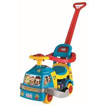 Andador Bichos Azul Com Aro - Magic Toys - 12x S/ Juros