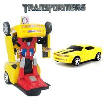 Carrinho Camaro Amarelo Transformers * Frete Grátis