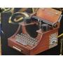 Novo !!!!!!!! Porta Joias Musical Miniatura Maquina Escrever