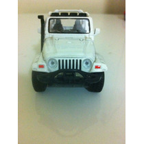Carrinho Jeep Wrangler 2003 Metal Esc 1:38