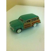 Ford 1949 Woody Wagon Esc 1:38 Metal