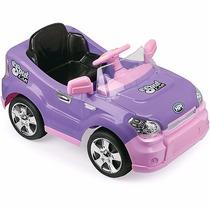Carro Eletrico Radio Controle Remoto Infantil Sout Car Lilas