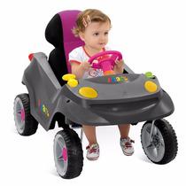 Carrinho Infantil Smart Baby Comfort Rosa Menina Bandeirante