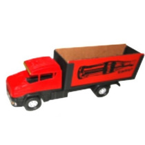 Mini Caminhão Furgão Plástico Madeira Brinquedo Premium