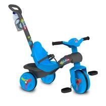 Motoquinha Triciclo Bandeirante Veloban Passeio (azul)