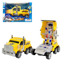 Caminhão Robô À Pilha