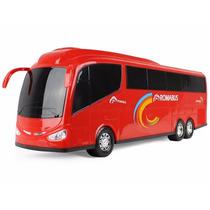 Miniatura De Ônibus Roma Bus Executive 46cm Vermelho Roma