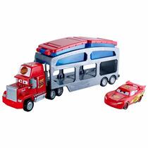 Caminhão Mack Trailer Color Change Disney Cars Mattel 7810-9