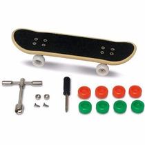 Skate De Dedo Profissional Fingerboard+kit Ferramenta+frete