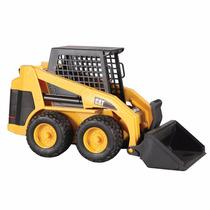 Máquina Caterpillar Mini Carregadeira Brinquedo Bruder 2431