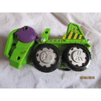 Carro Carrinho Brinquedo Verde Hulk Hasbro