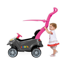 Carrinho De Passeio Bebê Infantil Criança Rosa Protetor