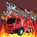 Brutale Bombeiro Caminhão Roma Brinquedos - Atira Água