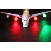 Avião Gigante Bate E Volta Com Som E Luz 45 Cm