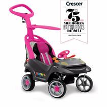 Veículo Para Bebê Smart Baby Comfort Rosa Bandeirante 520