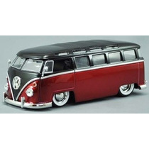 Vw Perua Kombi 62 1:24 Jada Fusca Ford Chevy Pick-up Bus Van