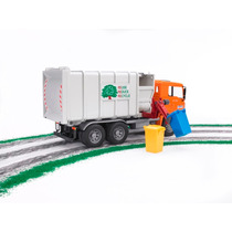 Bruder 2761 - Caminhão De Lixo Man Tga - Carregador Lateral
