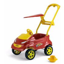 Carrinho Passeio P/bebê Baby Car Vermelho Homeplay