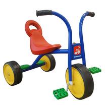 Triciclo Escolar Ferro Tico Tico Pega Carona Motoca Infantil