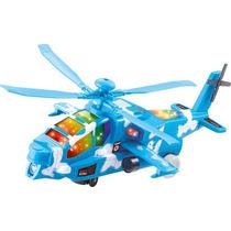 Helicóptero Bate E Volta Com Som E Luzes Brinquedo Infantil