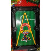 Brinquedo - Jogo De Sinuca / Bilhar Da Well Kids
