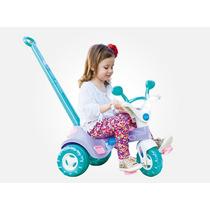 Triciclo Menina Velotrol Charmosa Musical Cotiplás Promoção